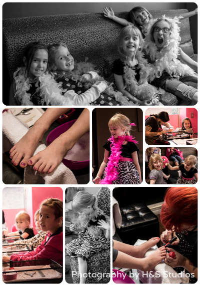 Posh Pedicure Lounge Princess Party