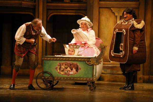 Victor A. Young, Zoe Brown, Valerie Boyle and Patrick R. Brown in Disney's Beauty and the Beast, Drayton Entertainment